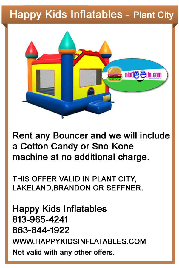 inflatables plant city party kids